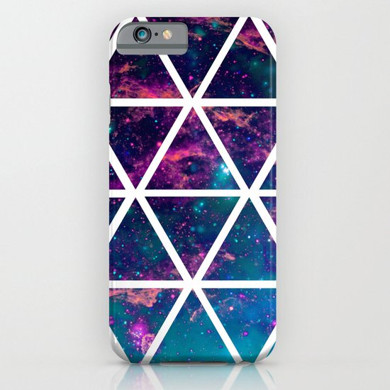 GALAXY TRIANGLES iPhone & iPod Case