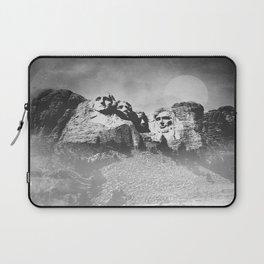 Rushmore at Night Laptop Sleeve