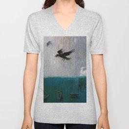 Crows Unisex V-Neck