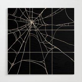 Spiderweb Wood Wall Art