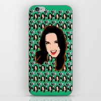 spice girls iPhone & iPod Skins featuring Spice World - Mel C Sporty Spice by Binge Designs Homeware