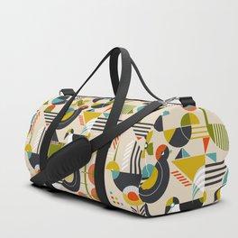 Bauhaus style birds Duffle Bag