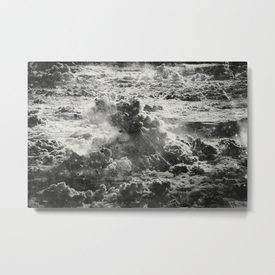 Somewhere Over The Clouds (III Metal Print
