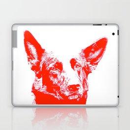 red Mitzi Laptop & iPad Skin