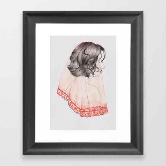 Lace II Framed Art Print