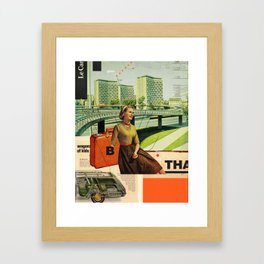 Give & Thank You Framed Art Print