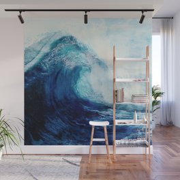 Waves II Wall Mural