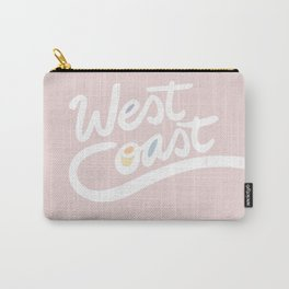 West Coast pink Carry-All Pouch