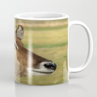 elk Mugs featuring Elk by Raymond Earley