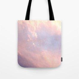 Cotton Candy Like Sky Tote Bag