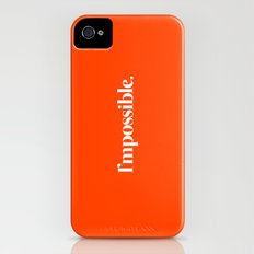 I'mpossible iPhone (4, 4s) Slim Case