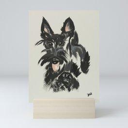 Scottie Skip Mini Art Print