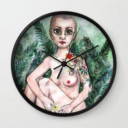 Fern appartment Wall Clock