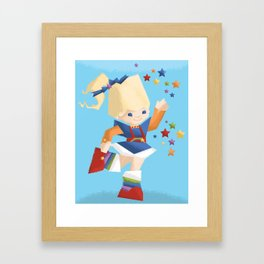 Rainbow Brite Framed Art Print