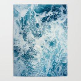 Rough Sea - Ocean Photography Poster