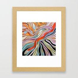 Ink drop Framed Art Print