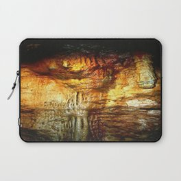 Reflections inside a Dolomite Cave Laptop Sleeve