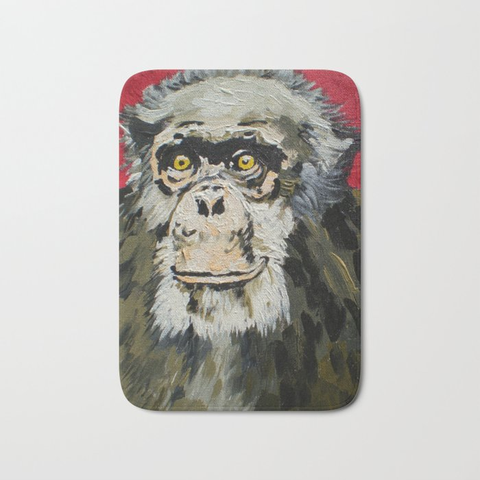 Billy Joe, the Chimpanzee (1969-2006) Bath Mat