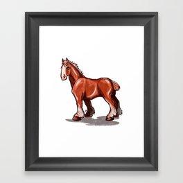 Clydesdale Framed Art Print
