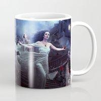 selena gomez Mugs featuring Selena Rosa 2 by Alexandra V Bach
