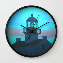 Point Loma Lighthouse (large) Wall Clock