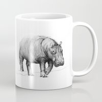 hippo Mugs featuring Hippo by 1 of 20