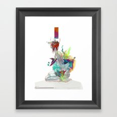 Echoed Through Framed Art Print