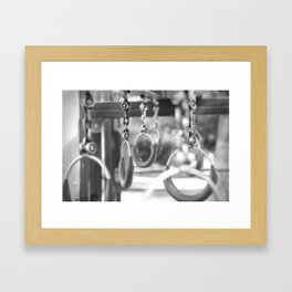 Empty playground Framed Art Print