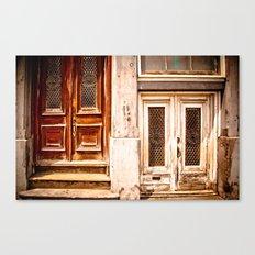 Doors, Montreal Canvas Print