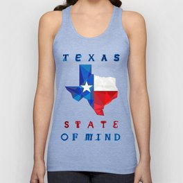 Texas State of Mind Unisex Tank Top