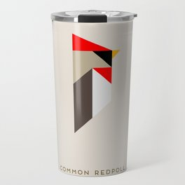 Common Redpoll Travel Mug