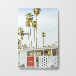 Palm Springs California Metal Print