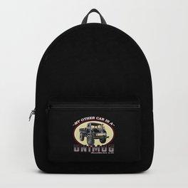 Vintage Truck Backpack