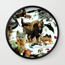 Santa Catalina Wall Clock