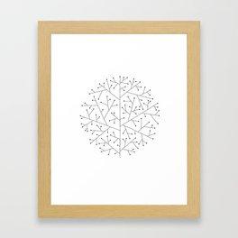 09 Framed Art Print