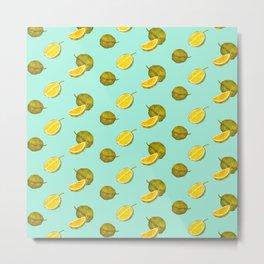 Durian II - Singapore Tropical Fruits Series Metal Print