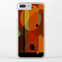 Technicolor (Pattern) Clear iPhone Case