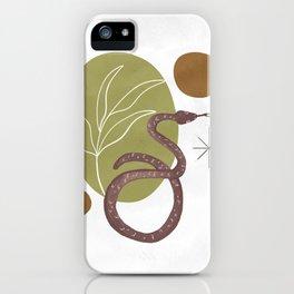 Serpent Garden iPhone Case