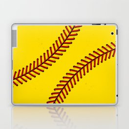 Fast Pitch Softball Laptop & iPad Skin