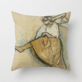 The Russian Dancer Throw Pillow