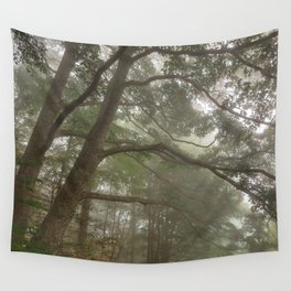 Misty Forest Branchscape Wall Tapestry