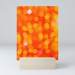 Orange Disco Fever Mini Art Print