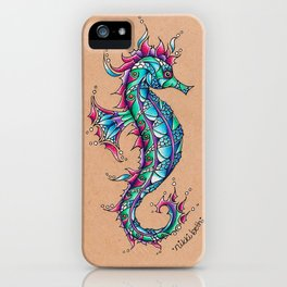 The Seahorse iPhone Case