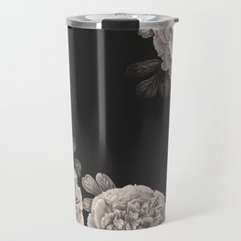 Flowers on a winter night Travel Mug