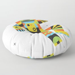 Hello Spaceman Floor Pillow