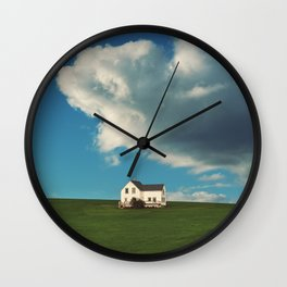 House on the Hill Wall Clock