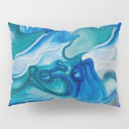 ''I swim with you'' Pillow Sham