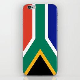 flag south africa, African,Afrikaans,Mandela,apartheid, Johannesburg,Soweto,Pretoria,Durban,Tembisa iPhone Skin