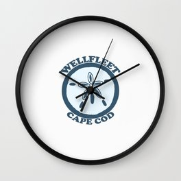 Cahoon Beach. Cape Cod Wall Clock
