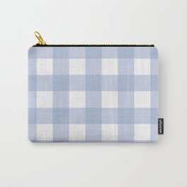 Pantone 2016: Serenity Gingham Carry-All Pouch